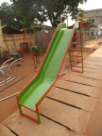 Modèle du toboggan qui est commandé