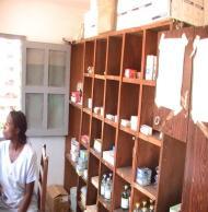 Intérieur de la pharmacie