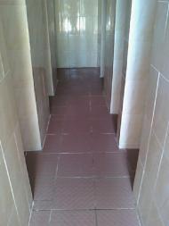 Intérieur douches après travaux