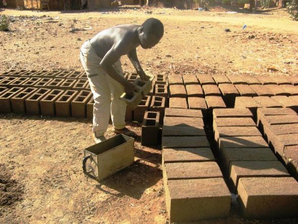 Fabrication des briques