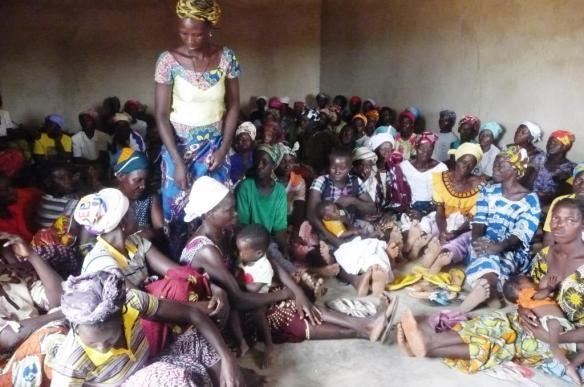 90 femmes du villag de DoulouC