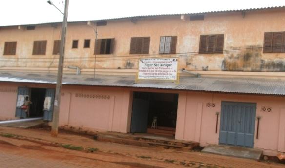 Bénin - façade Sainte Monique