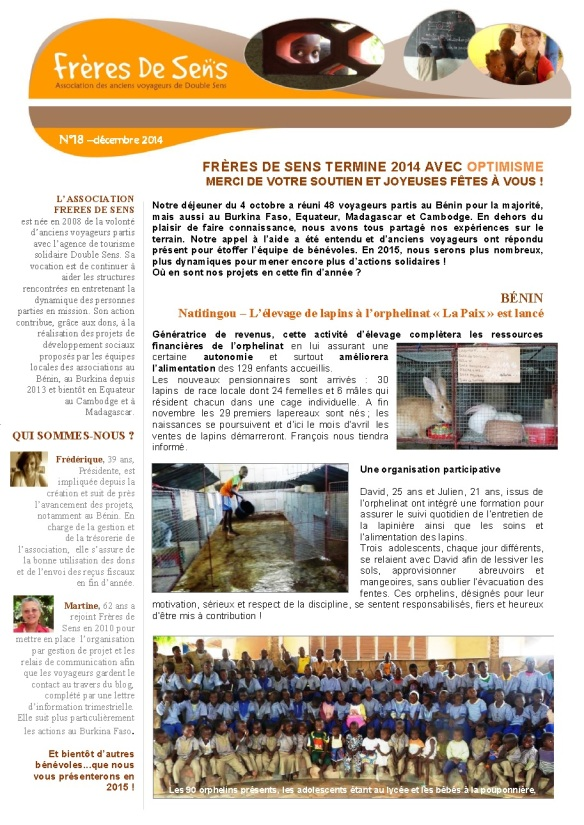 Newsletter 18 déc2014 P1