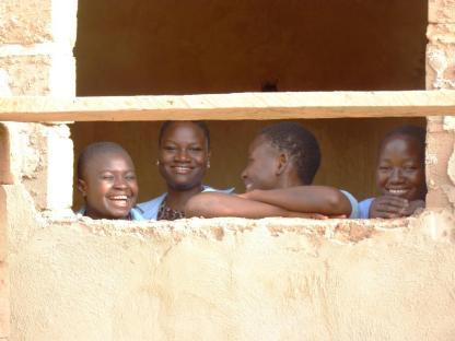 Stagiaires Action Sociale KoudougouC