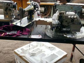 préparation machine à coudre